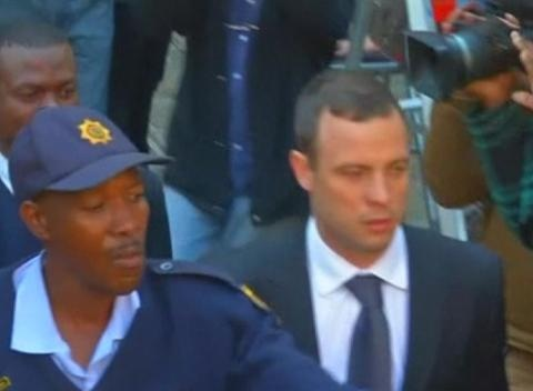 News video: Oscar Pistorius Trial Adjourns for the Day